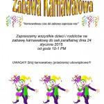 Zabawa Karnawałowa 2015