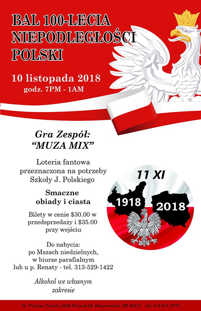 Bal Niepodległościowy 2018