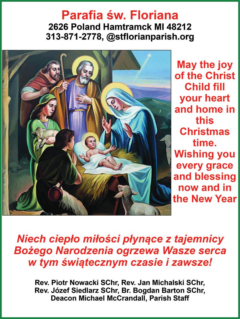 Christmas wishes/Życzenia Bożonarodzeniowe