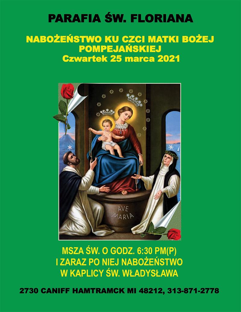 Nabozenstwo Matki Bozej Pompejanskiej
