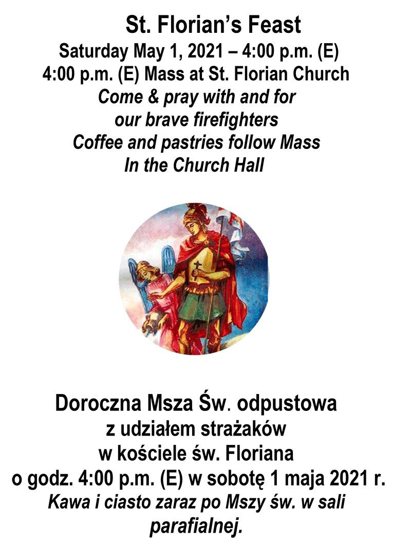 St. Florian's Feast/Msza Odpustowa